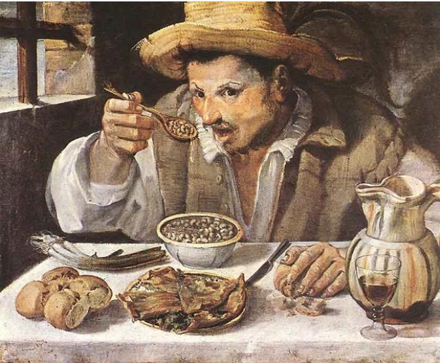 Annibale Carracci, Il Mangiafagioli, 1584-85, Galleria Colonna, Roma