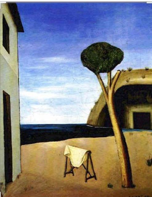 Carlo Carrà, Il Pino sul Mare, 1921, Collezione Privata