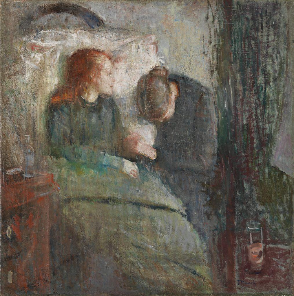 Edward Munch, La fanciulla malata, 1885-1886, Galleria Nazionale, Oslo