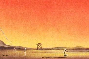 Salvador Dalì, Particolare da Gli Elefanti, 1948, Collezione Privata Ode agli Elefanti Surreali(sti)
