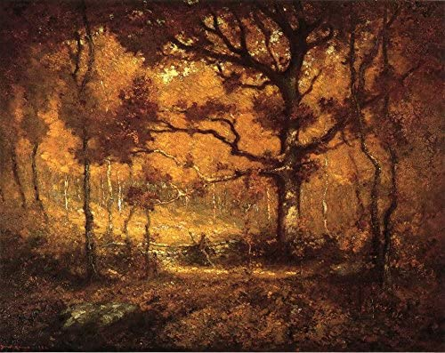 """Henry Ward Ranger, """"Woods in Autumn"""", 1902 ca., Florence Griswald Museum, Connecticut"""