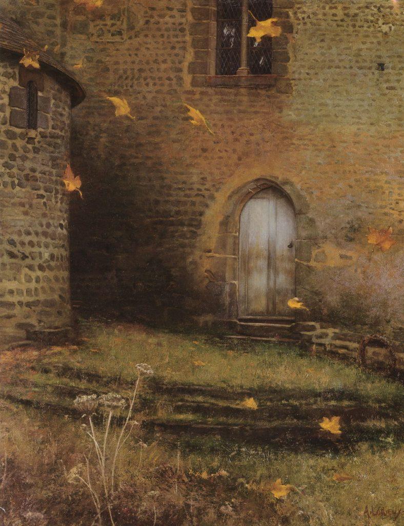 """Albert Lorieux """"Solitudine"""", 1898 ca., Collezione Privata."""