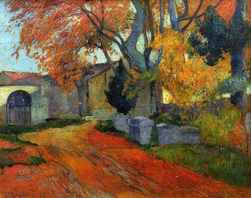 """Paul Gaugin, """"La Strada"""", 1888 ca., Collezione Privata"""