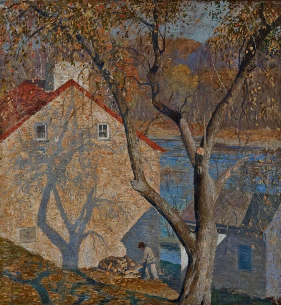 """Daniel Garber """"Ombre"""", 1922, Collezione Privata"""