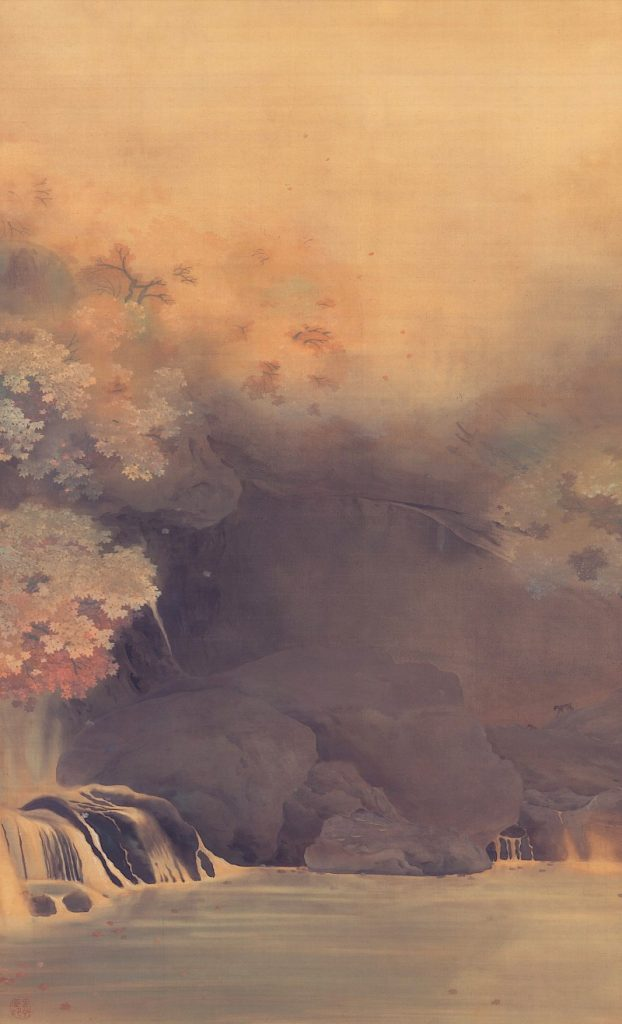 "Hishida Shunsō ""Paesaggio Autunnale"", 1889, Shimane Art Museum, Giappone"