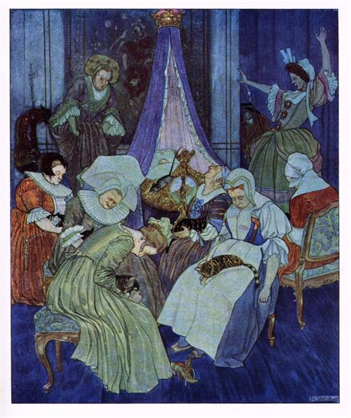 """Artuš Scheiner, Illustrations from""""The Nutcracker and the Mouse King"""", 1924"""