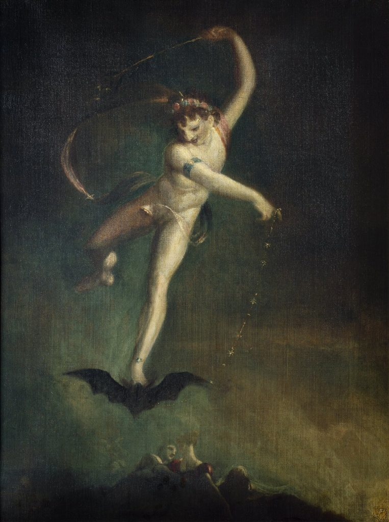 "Johann Heinrich Füssli, ""Ariel"", 1800-1810 ca., Private Collection"