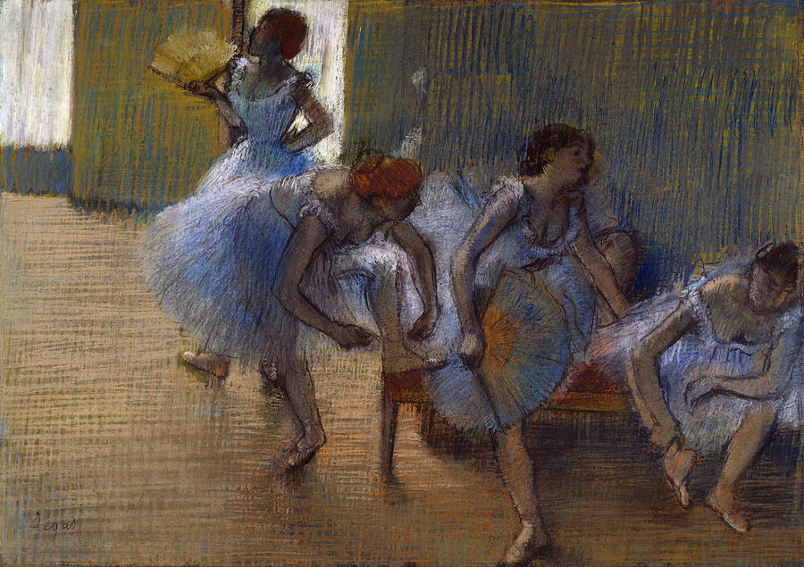 Edgar Degas, In the Dance Studio, c.1897, Private collection
